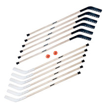 #740 Pro Wood Outdoor Hockey School Set
