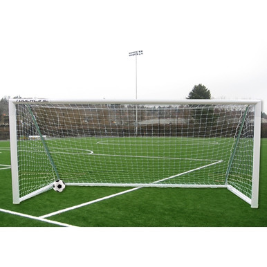 Touchline Striker™ Soccer Goal, 6' X 12', Portable, Square Frame (Pair)