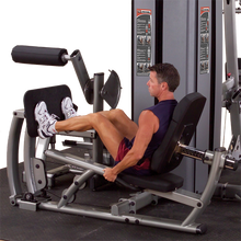 DUAL LEG/CALF MACHINE, FREESTANDING NO STACK