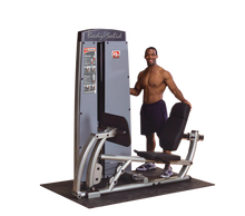 Dual Leg/Calf Machine FREESTANDING, W STACK