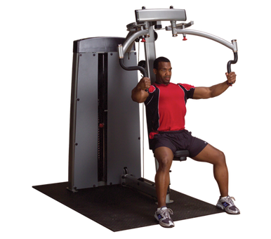 DUAL PEC/FLY-MACHINE, FREESTANDING NO STACK