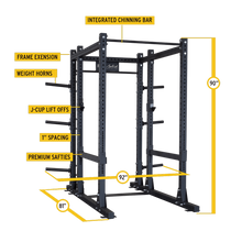 PCL Power Rack Base Rack SPR1000 and Extension
