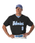 ALLESON ADULT TWO BUTTON MESH BASEBALL JERSEY WITH PIPING