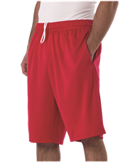 ADULT MULTI SPORT TECH UTILITY SHORT WITH POCKETS