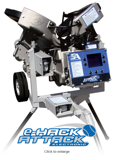 e-Hack Attack Baseball Pitching Machine