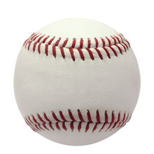 White Leather Baseball 9""