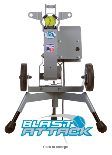 Pro Blast Attack Pitching Machine for Softball