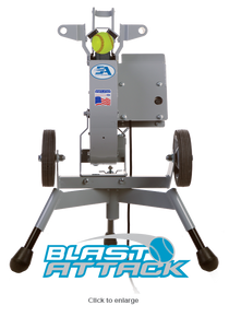 Blast Attack Softball Pitching Machine