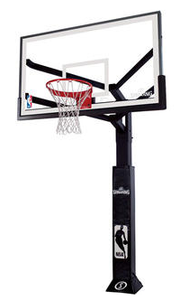 Spalding 88724AAP NBA Maximum Performance 72 in. Acrylic In Ground Basketball System