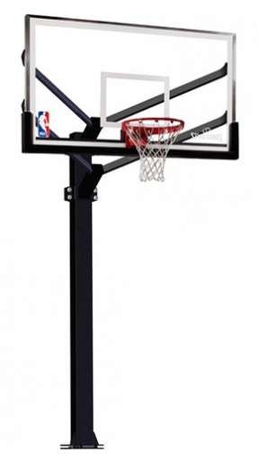 Spalding Arena View 886724FS Fixed Height Basketball Hoop