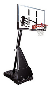 Spalding Portable Basketball Goals - Features a 60 inch Acrylic Backboard