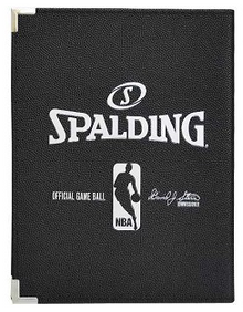 "Spalding 5""X7"" NBA Padfolio Notebook - Black"