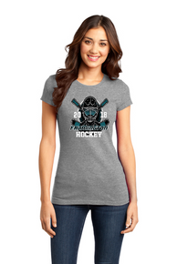 Women's Fitted Tee Gray
