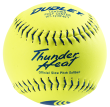 "Spalding Dudley12"" USSSA THUNDER HEAT® CLASSIC-M STAMP SLOWPITCH SOFTBALL - per dozen"