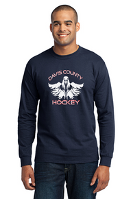 Men's Long Sleeve Core Blend Tee - Navy