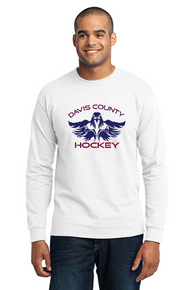 Men's Long Sleeve Core Blend Tee - White