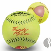 Dudley USSSA Thunder Hycon Slow Pitch Softball - Composite Cover - per dozen