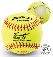 Dudley Thunder SY Protector Series - Level 1 Fast Pitch Softball - per dozen