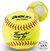 """Dudley Thunder SY Protector Series - Level 1 - 11"""" Fastpitch Softball - per dozen"""