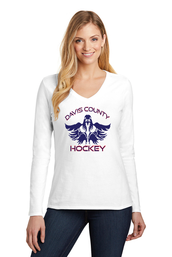 Women's Very Important Tee - Long Sleeve White