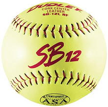 "Dudley ASA SB 12L 12"" Slow Pitch Softball - per dozen"