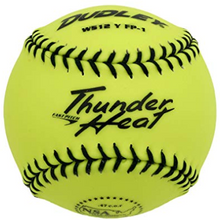 "Dudley NSA Thunder Heat 11"" Fast Pitch Softball - Leather Cover - per dozen"
