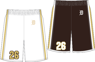 Reversible Game Shorts **REQUIRED FOR INCOMING PLAYERS**