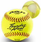 "Spalding Non-Association Thunder Heat 12"" Softball - Composite Cover - per dozen"