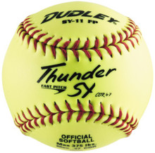 Spalding NON-ASSOCIATION Thunder SY Fastpitch Softballs -per dozen