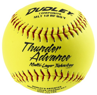 Spalding NON-ASSOCIATION THUNDER ADVANCE® SLOWPITCH SOFTBALL - per dozen
