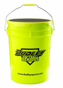 DUDLEY® SOFTBALL BUCKET WITH PADDED LID