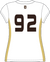 DHS Girls Lacrosse Jersey - White