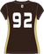 DHS Girls Lacrosse Jersey - Brown