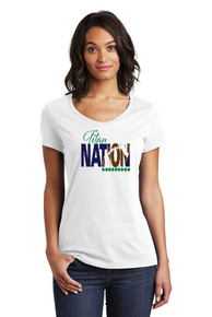 Women's Titan Nation V-Neck Tee