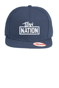 New Era Original Fit Flat Bill Snapback Titan Nation Hat