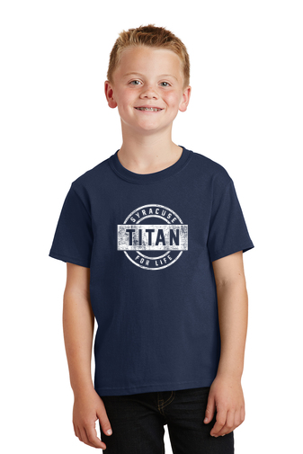 Youth Titan For Life T Shirt
