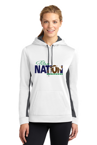 Ladies Sport-Wick Fleece Pullover Hooded