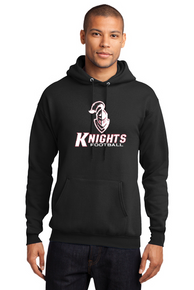 Adult Elite Hoodie with sewn twill