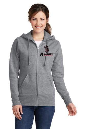 Ladies Zip Up Hoodie