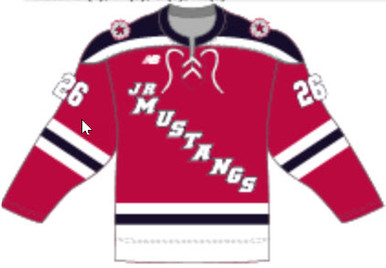 Jr. Mustangs Home Jersey