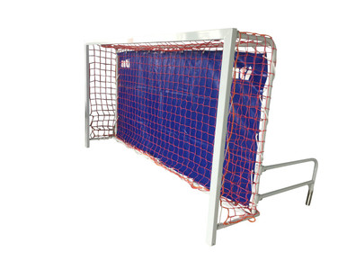Universal Wall Goal, Long Wall, USA Only (Red Net, Blue Canvas)