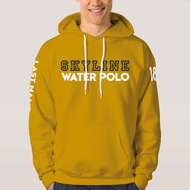 Customized player hoodie