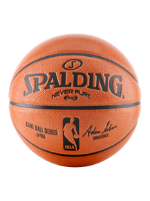 "NEVERFLAT® 28.5"" NBA REPLICA COMPOSITE BASKETBALL"