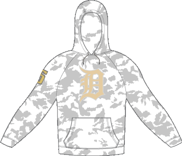 Camo Player Hoodie **OPTIONAL**