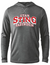 Sting Men's long sleeve hooded tee shirt