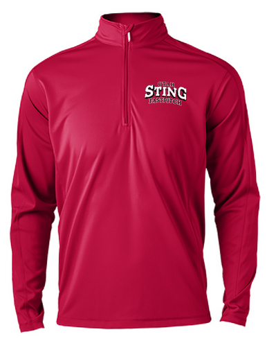 Sting - Men's 1/4 zip pullover