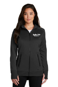 New Era Ladies Fleece Full-Zip Hoodie