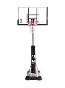SPALDING PORTABLE SYSTEM -⁠ HERCULES® -⁠ PRO-⁠GLIDE ADVANCED® WITH VERTICAL POLE