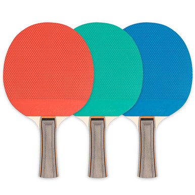 Champion 5 PLY RUBBER TABLE TENNIS PADDLE