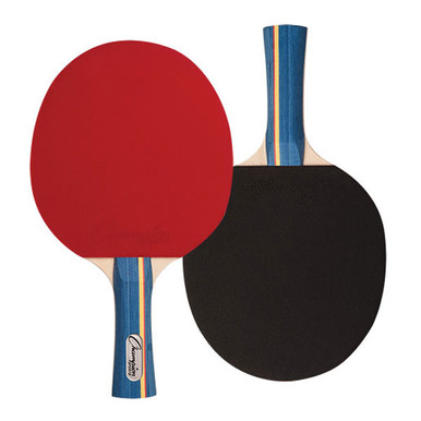 Champion 7 PLY PIPS IN RUBBER FACE TABLE TENNIS PADDLE 4-4-7